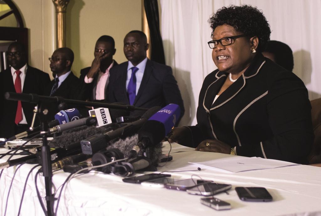 ZIMBABWE-POLITICS-MUJURU