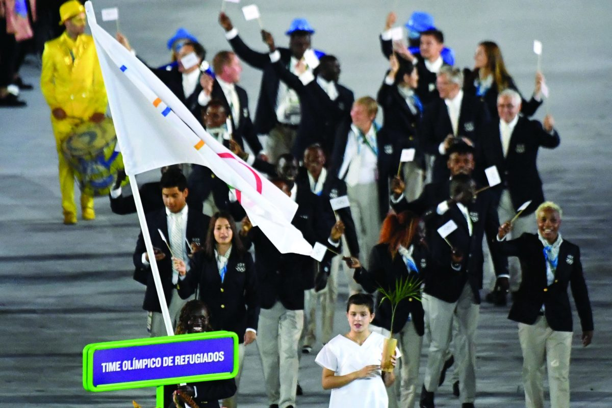 The Olympians Who Want Peace  More Than Gold