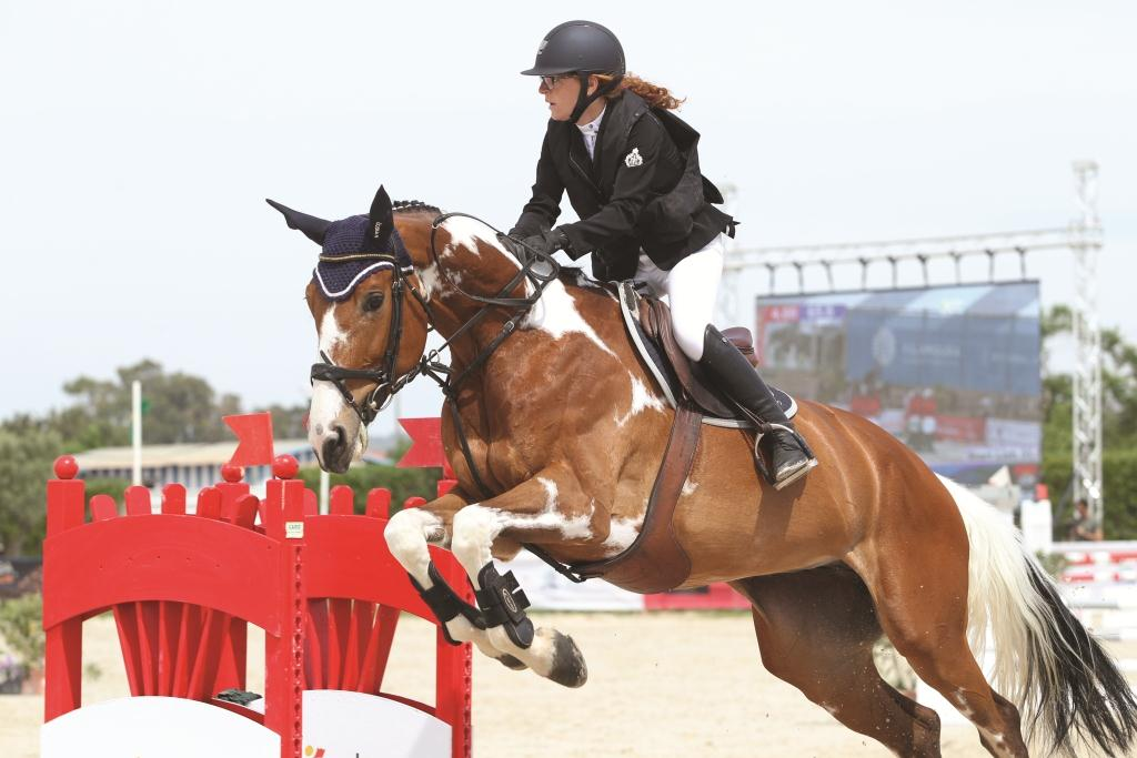 The Showjumpers   Of Angola