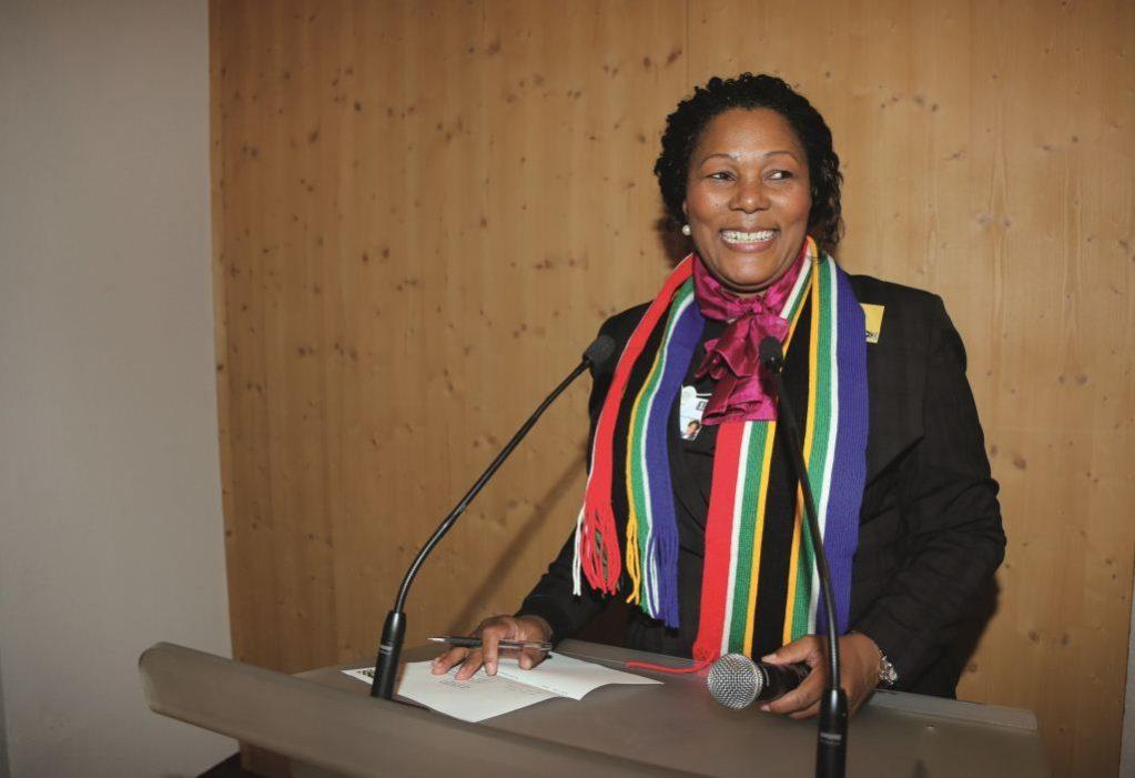 A BRAND new entrepreneur Charlotte 'Chichi' Maponya
