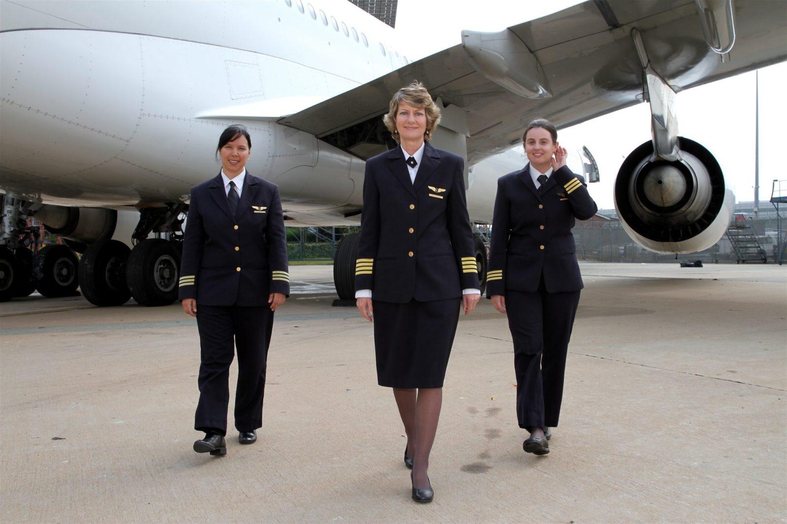 Women Power At 30,000ft