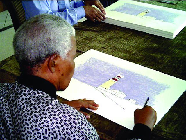 Nelson Mandela, The Artist