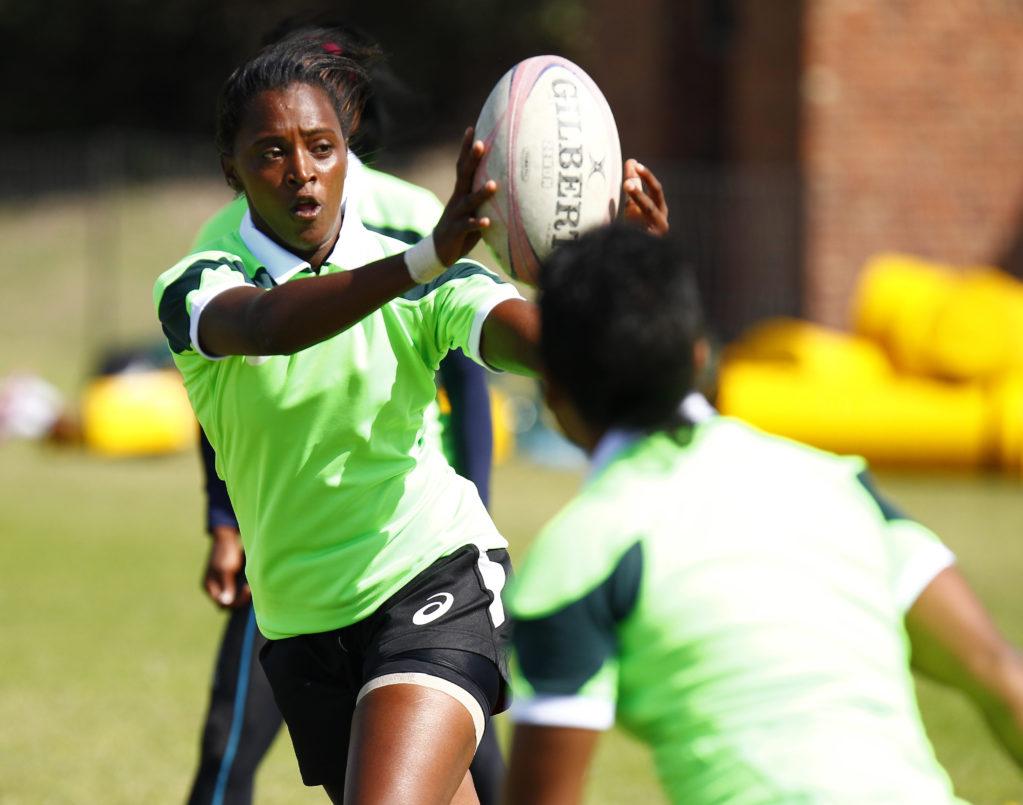 Elite Womens Springboks Sevens team media open day