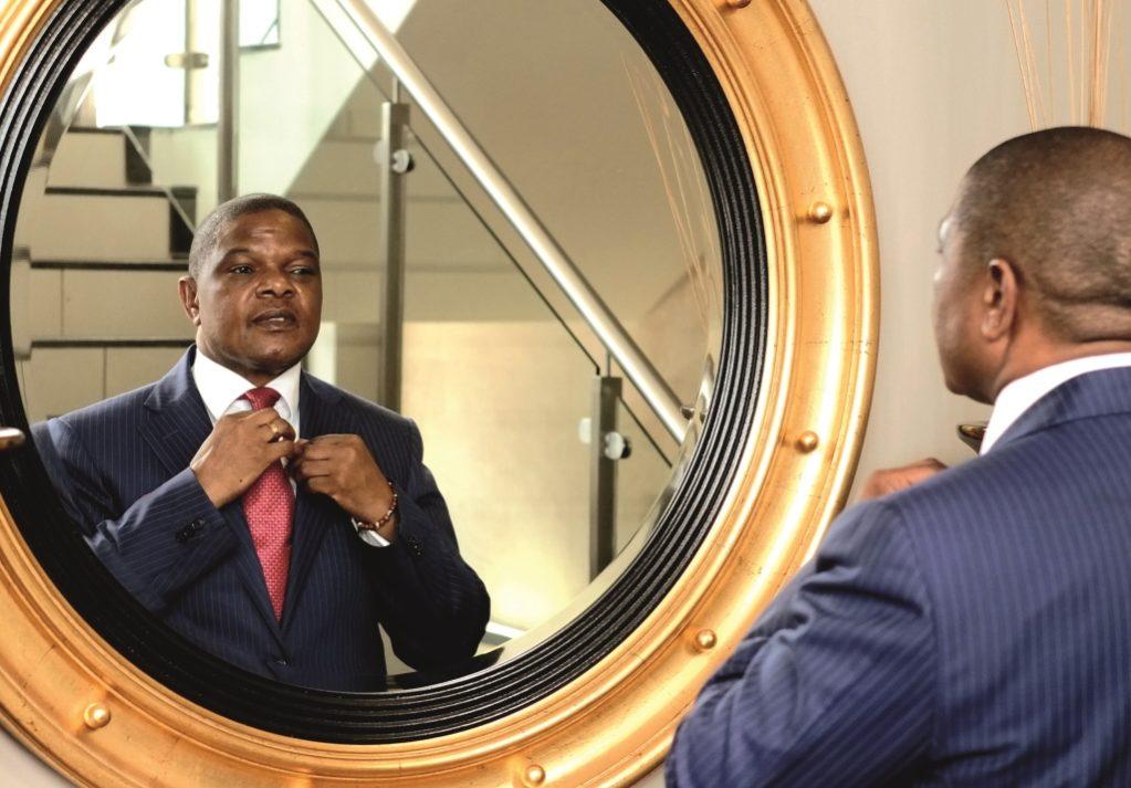 The Multi-Millionaire  In The Mirror