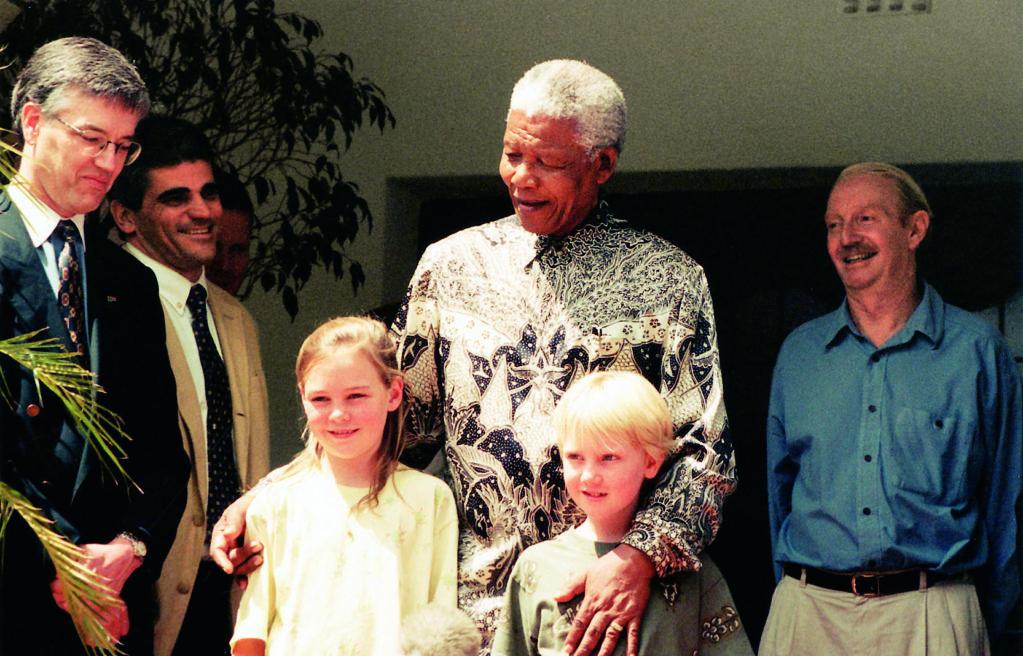 The Day A Sad And Grumpy Mandela  Needed A Kiss