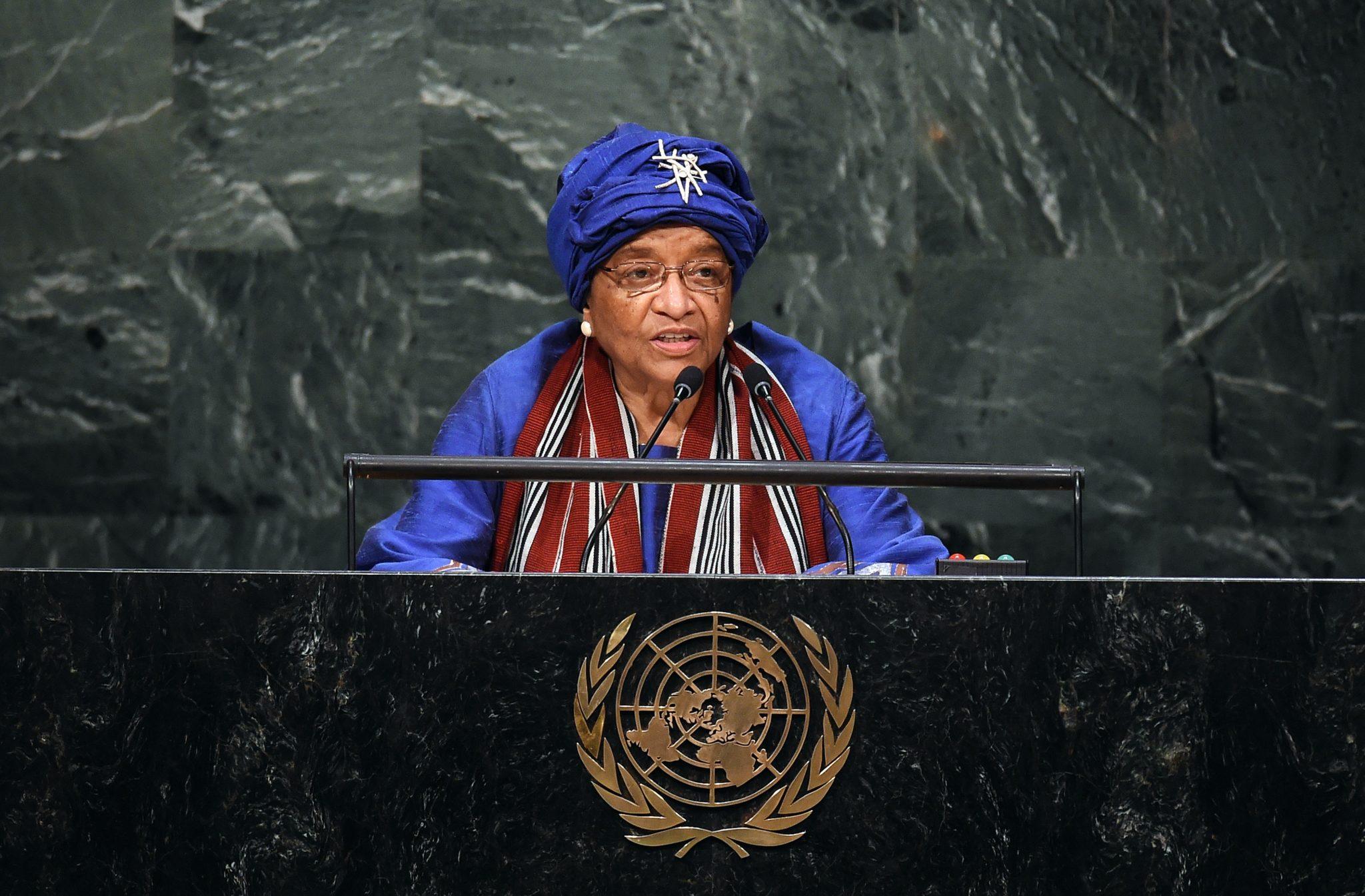 UN-GENERAL ASSEMBLY-LIBERIA