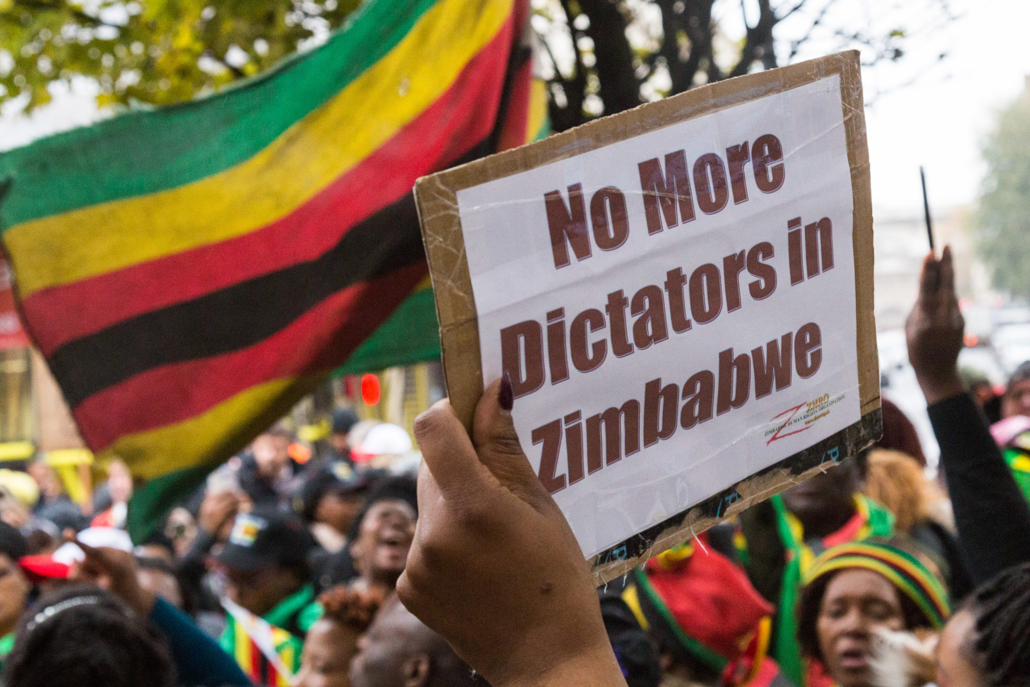 Zimbabweans Welcome Military Intervention