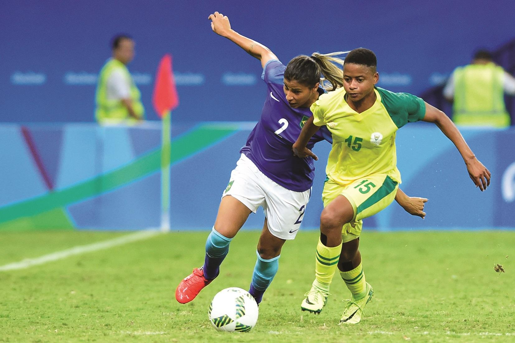 South Africa v Brazil: Women's Football – Olympics: Day 4