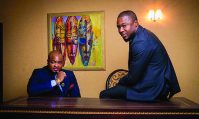 Uyo Ogbebor and Ayo Akinbode, Co-Founders, HWP Group. Picture: Supplied