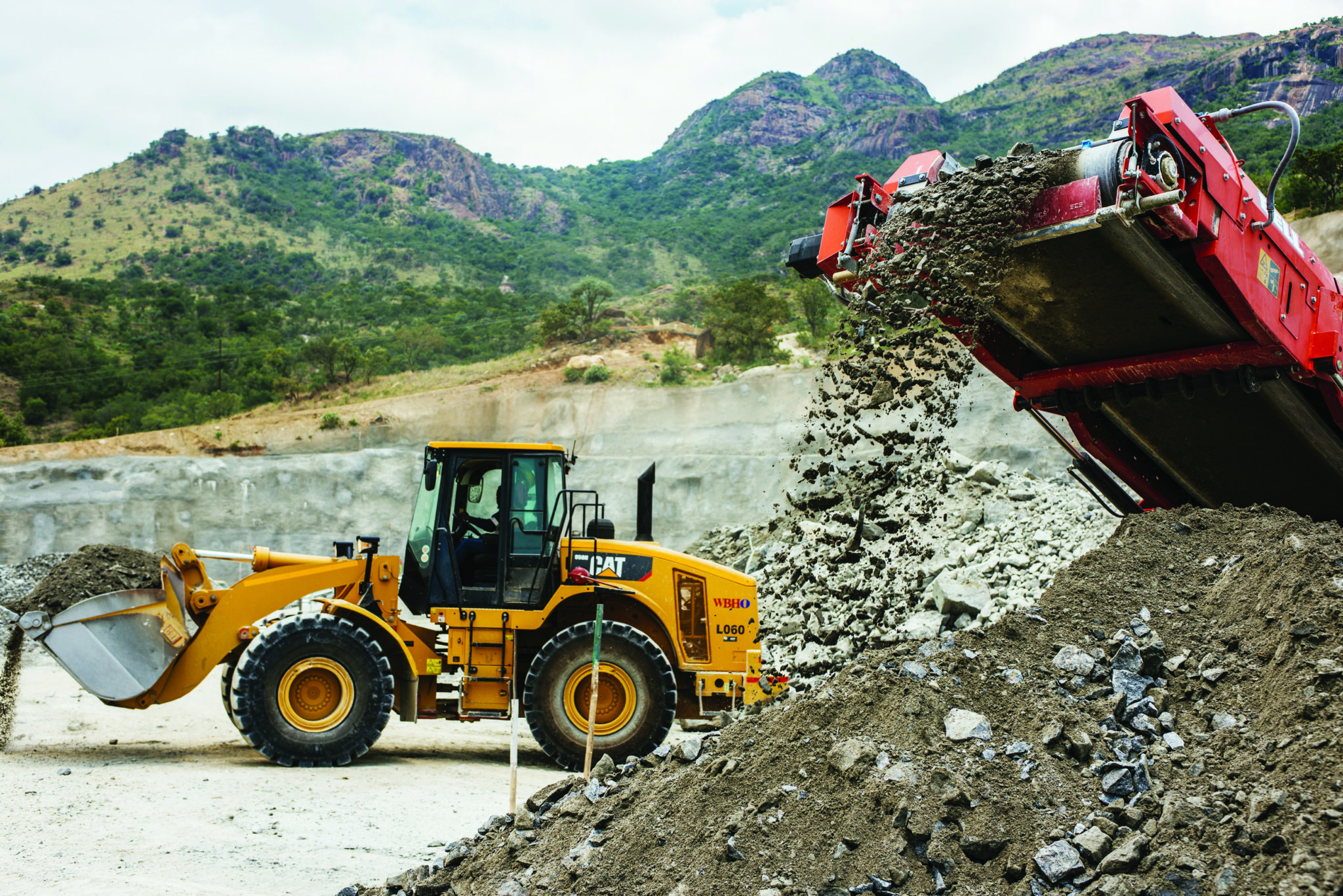 Precious Metals Excavation And Mining Operations At Northam Platinum Ltd Booysendal Mine