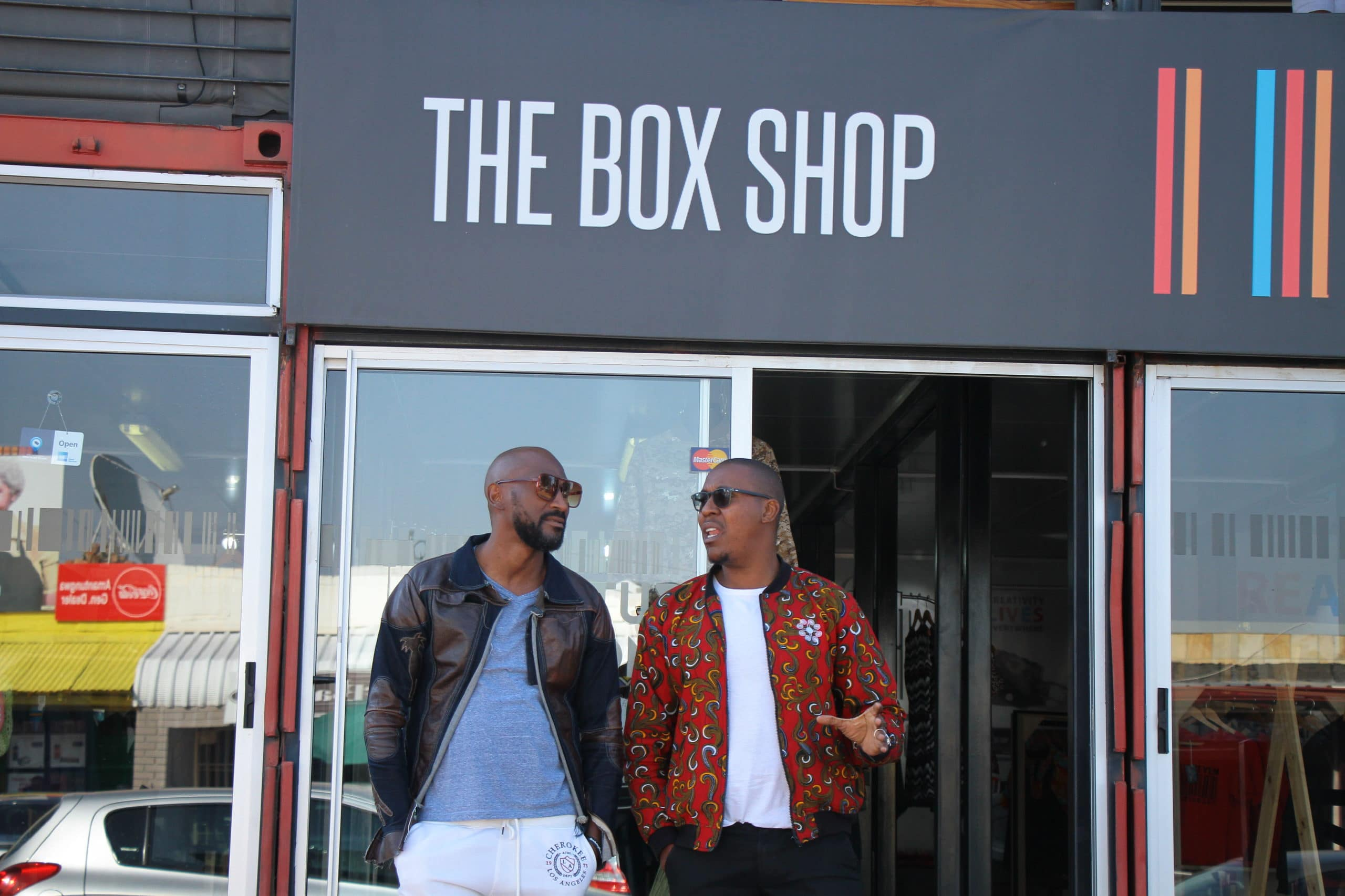 Founders of The Box Shop Bernard Msimango and Sifiso Moyo; pic supplied