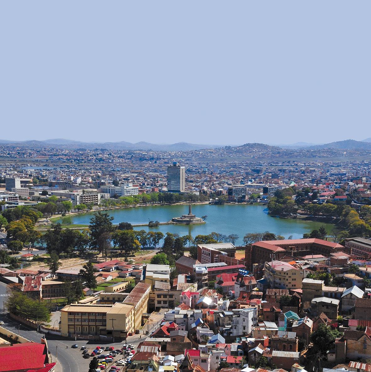 Antananarivo, Madagascar: skyline