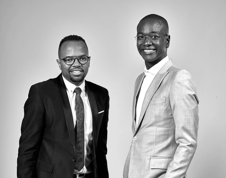 Zibusiso Mkwanazi (left) and co-founder Veli Ngubane