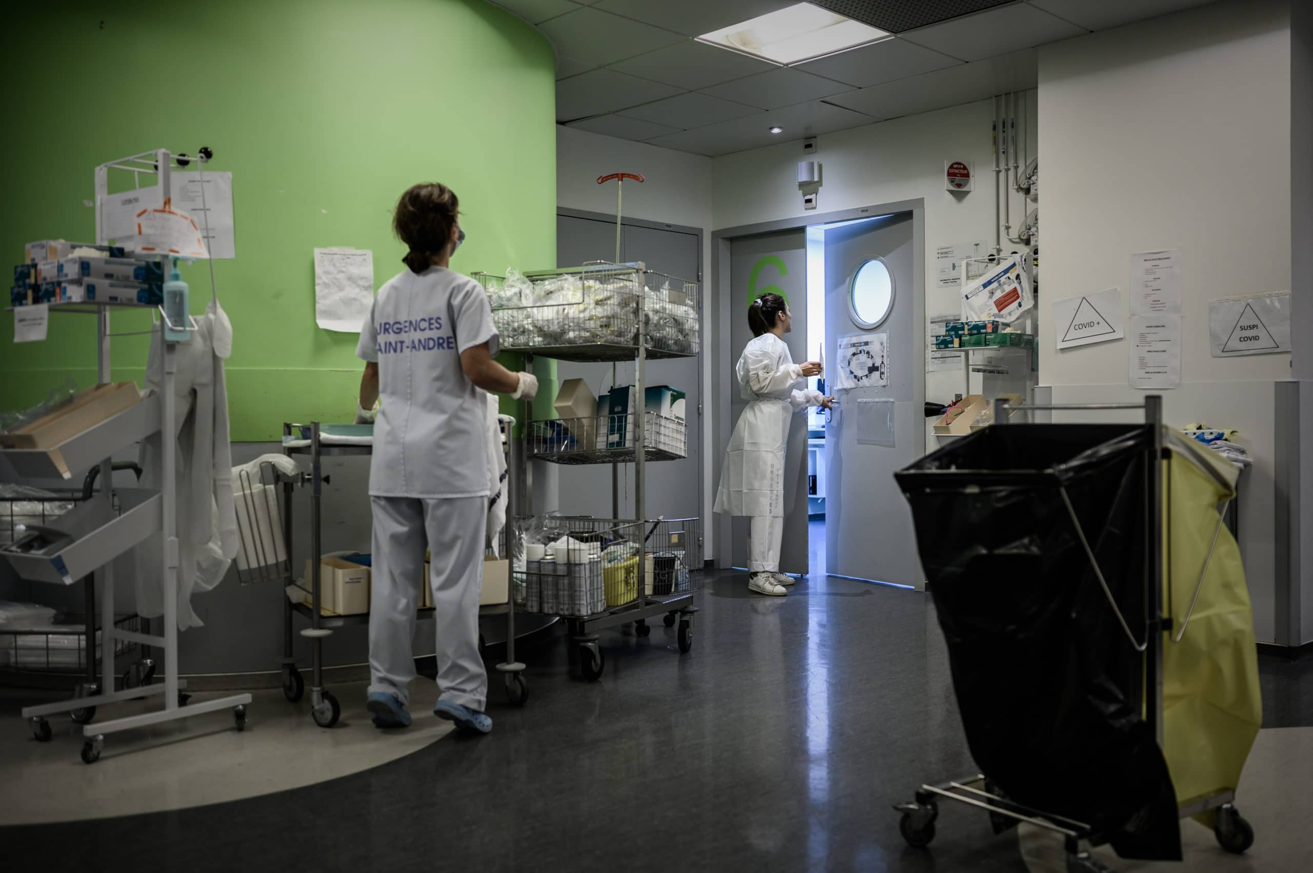 FRANCE-HEALTH-VIRUS-TEST