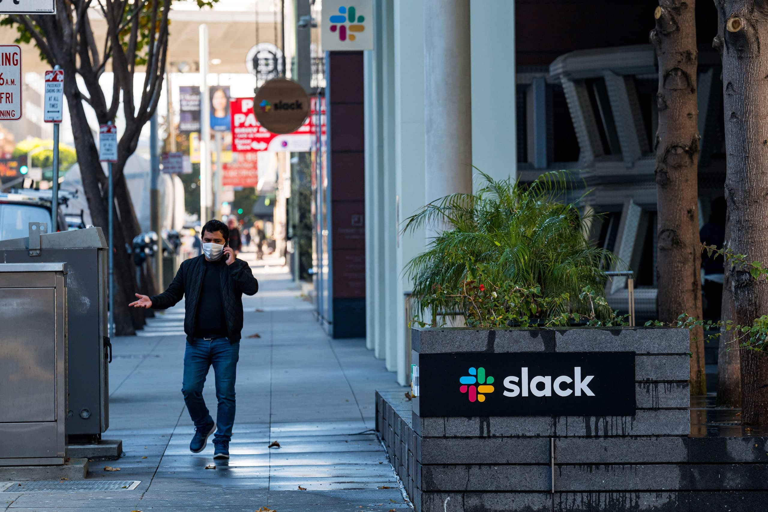 Salesforce To Buy Software Maker Slack For $27.7 Billion