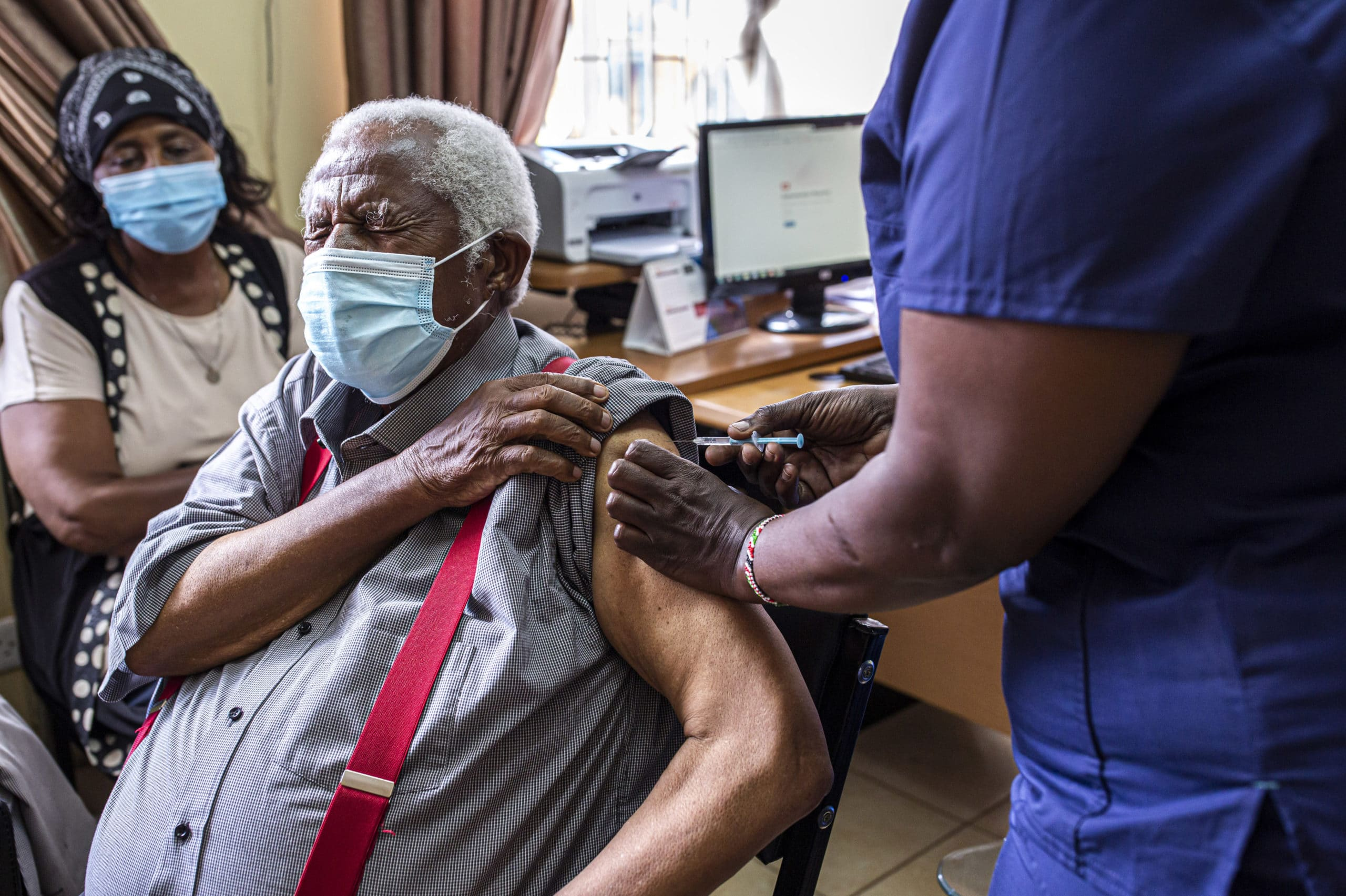 Kenya Vaccinates Elderly Against Covid-19