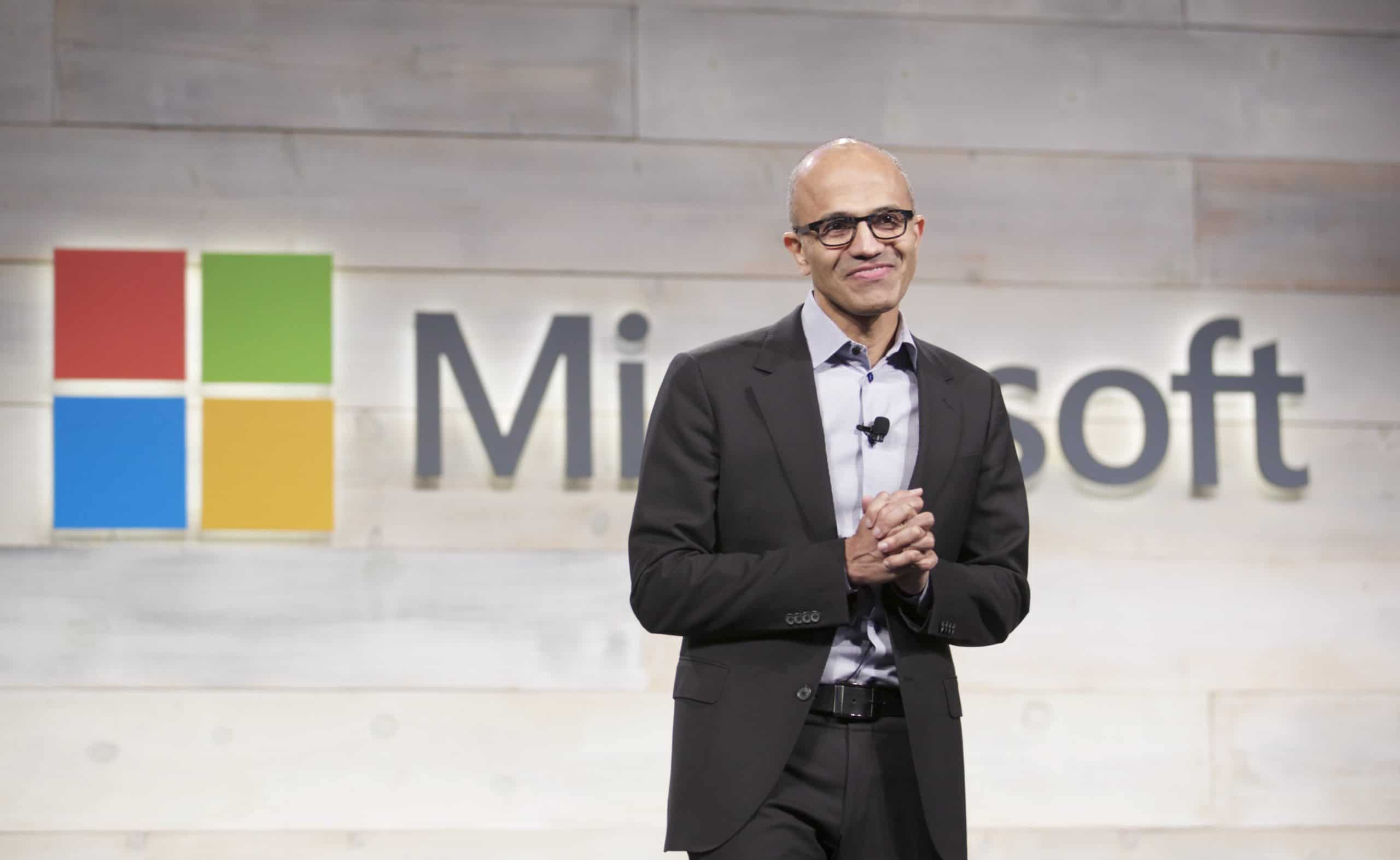 Microsoft Holds Annual Shareholder Meeting