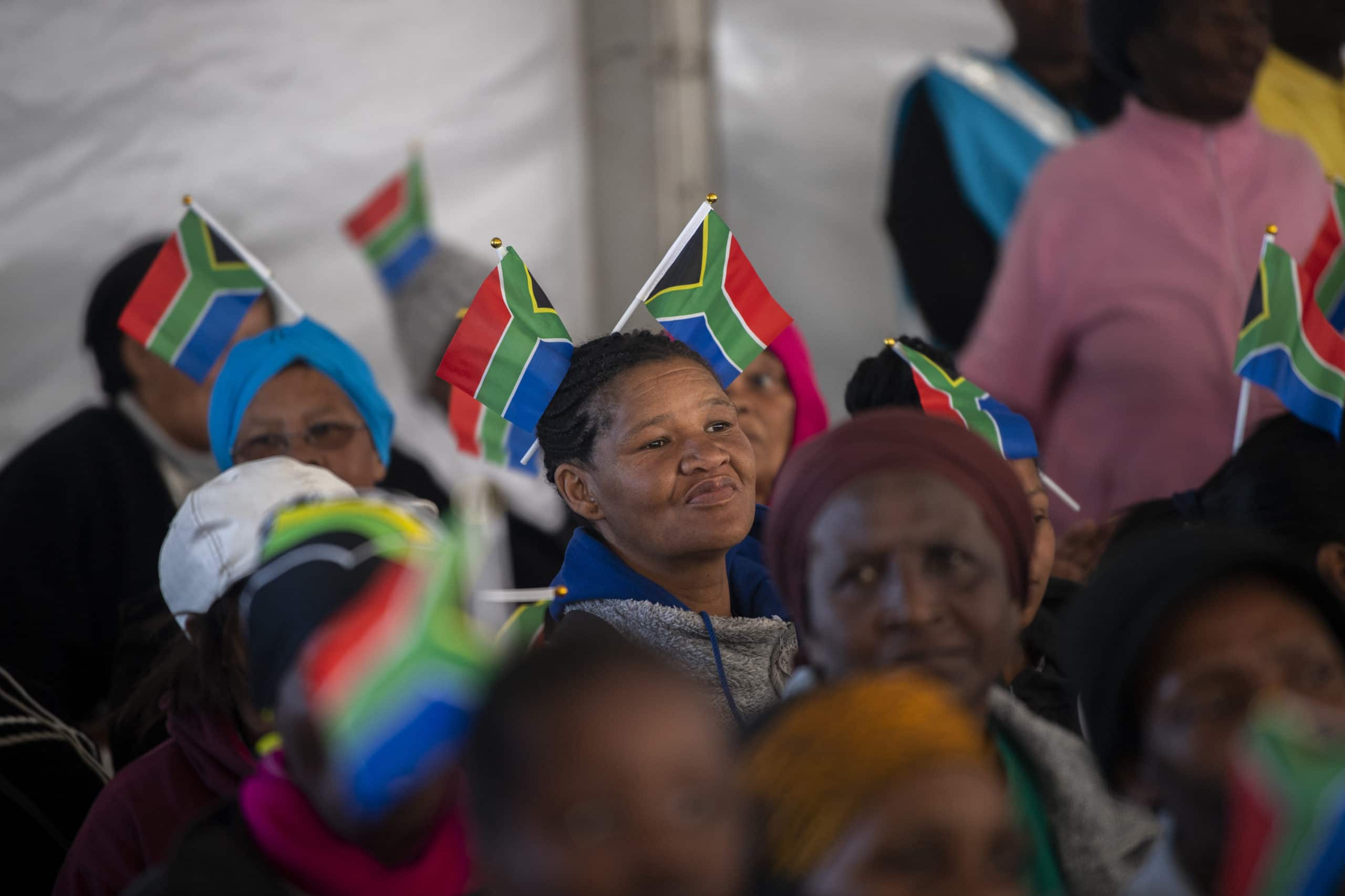 Ramaphosa addresses Womens Day celebrations in South Africa