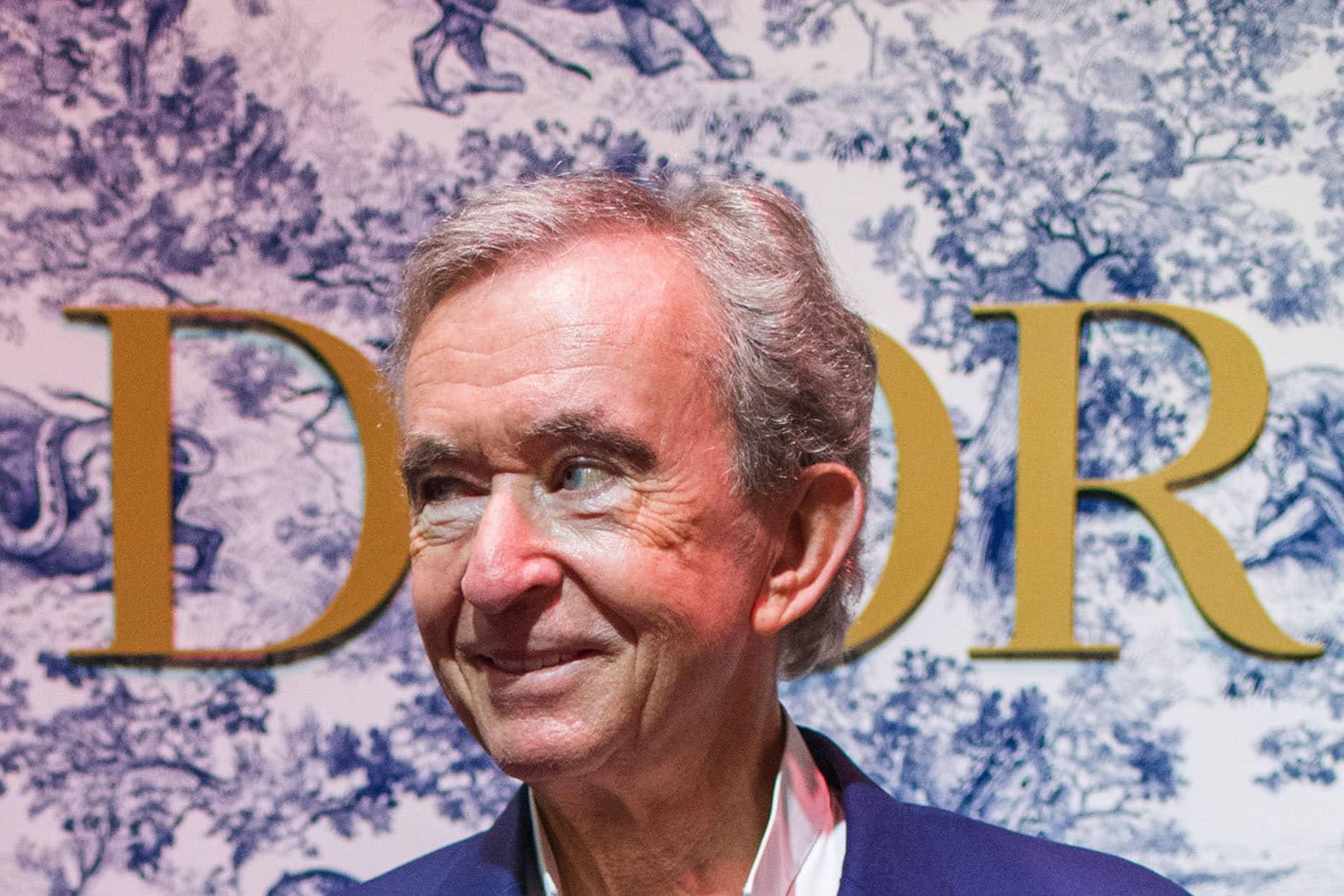 Billionaire LVMH Moet Hennessy Louis Vuitton SE Chairman Bernard Arnault at VivaTech 2021