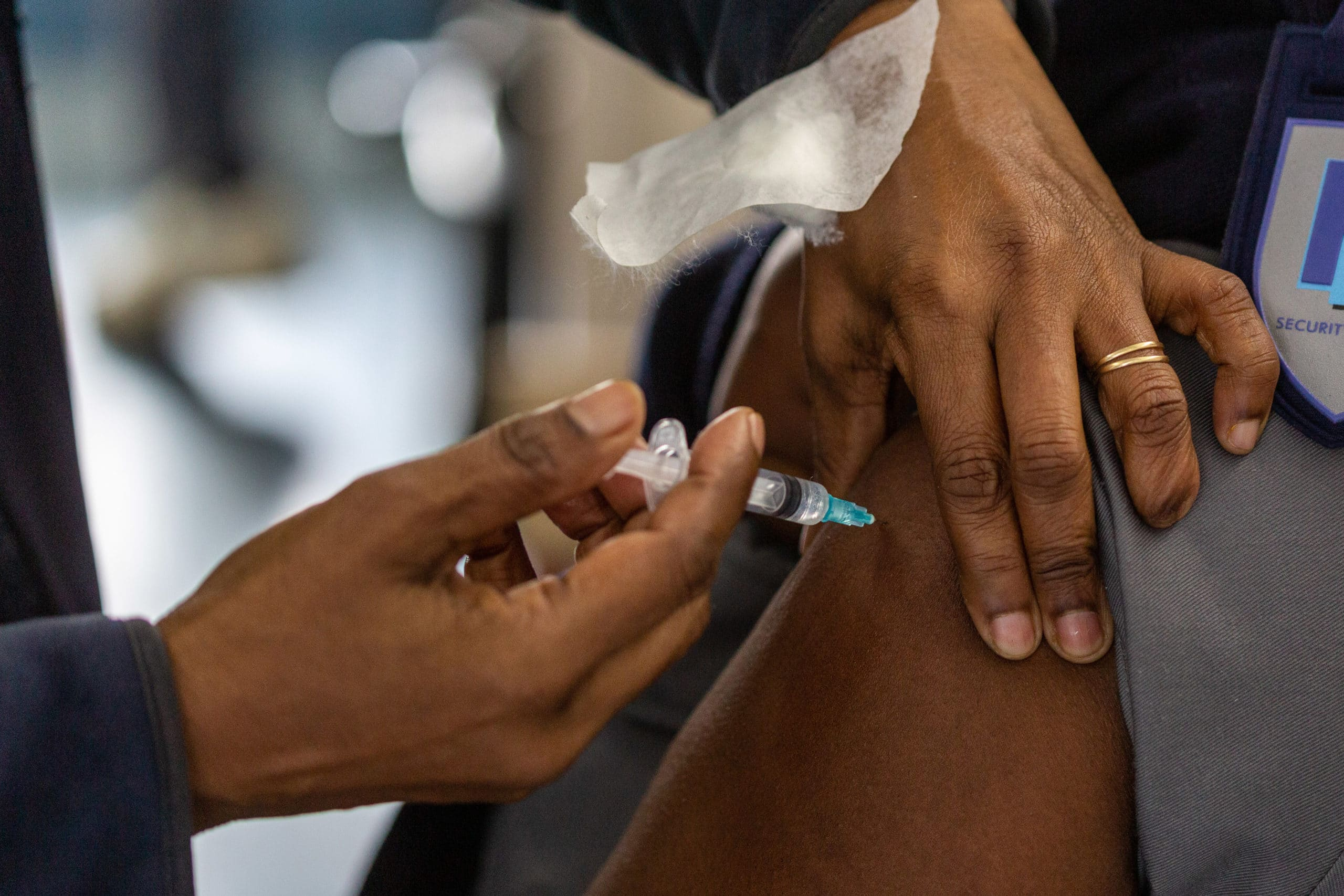 Pop-up Vaccination Bus as South Africa Weathers Third Covid Wave