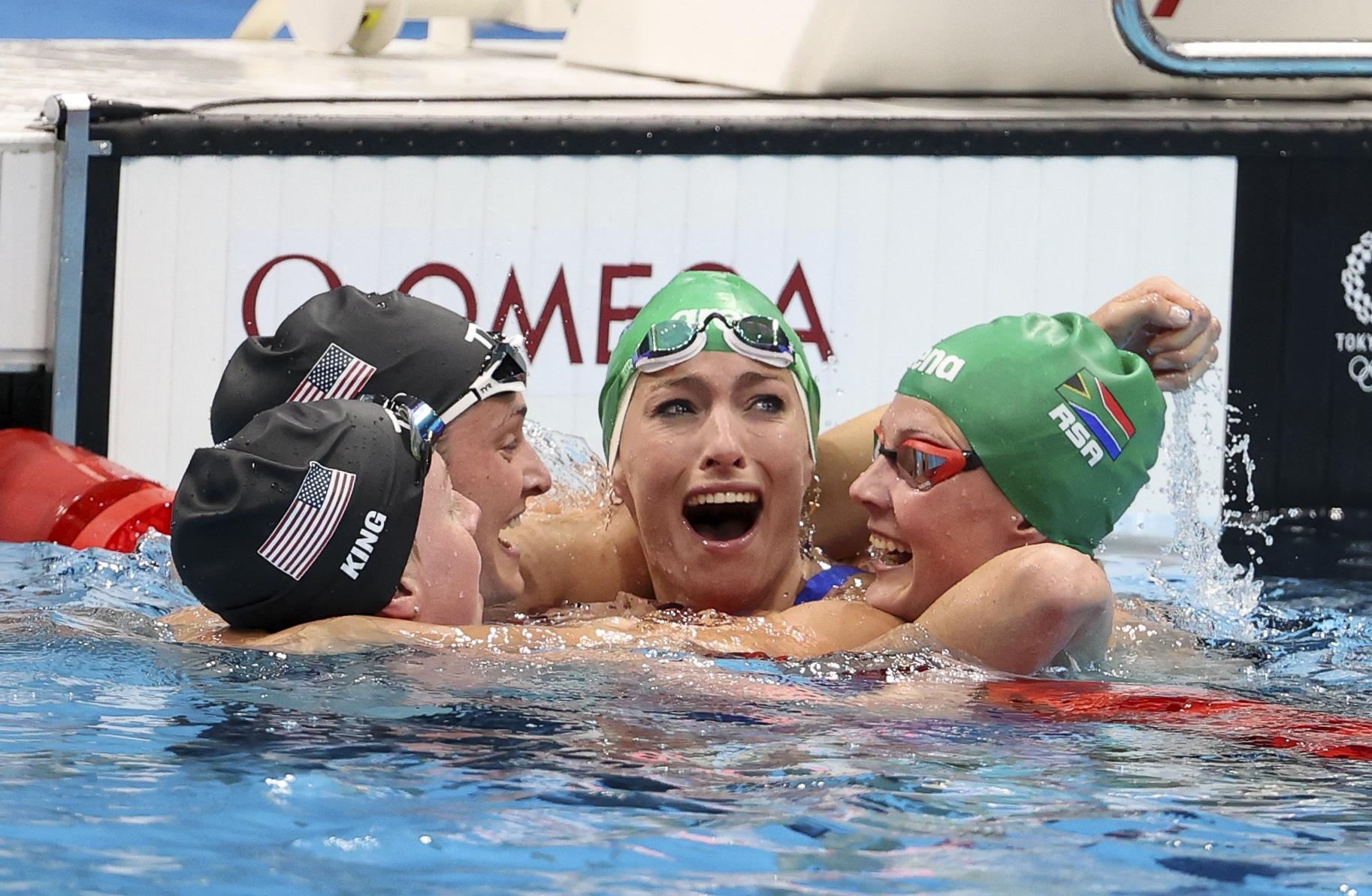 Swimming – Olympics: Day 7